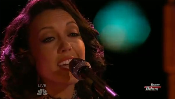 Amy Vachal Blank Space The Voice Top 11