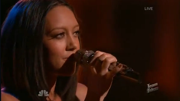 Amy Vachal The Voice Live Playoffs