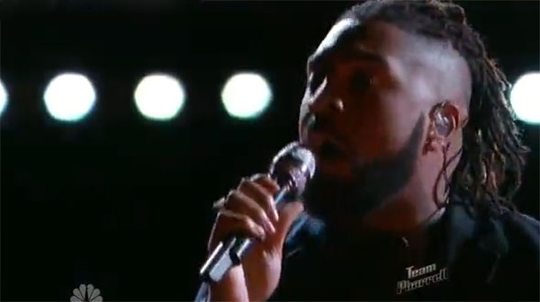 Darius Scott The Voice Live Playoffs