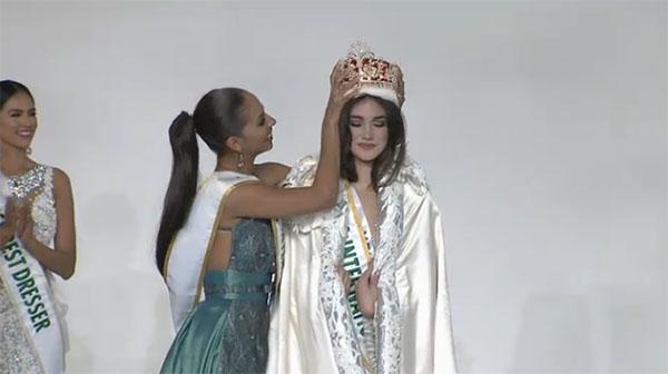 Edymar Martínez Miss International 2015 winner