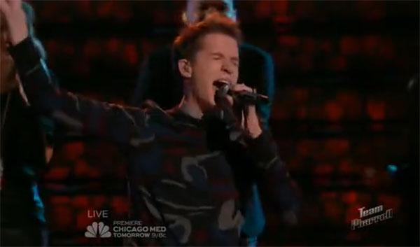 Evan McKeel the Voice Top 12