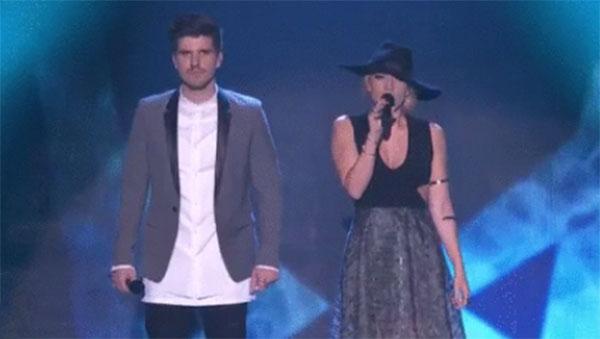 Jess & Matt X Factor Australia Grand Final