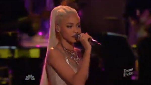 Nadjah Nicole The Voice Live Playoffs