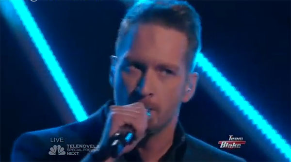 Barrett Baber The Voice Top 9