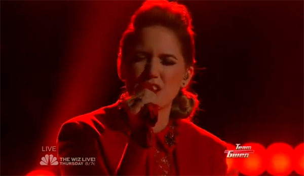 Korin Bukowski The Voice Top 10