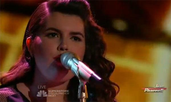 Madi Davis The Voice Top 10
