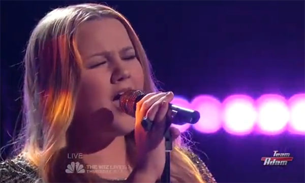 Shelby Brown The Voice Top 10