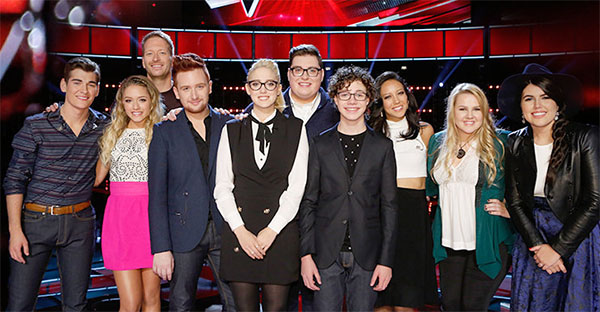 The Voice Results Tonight Top 10