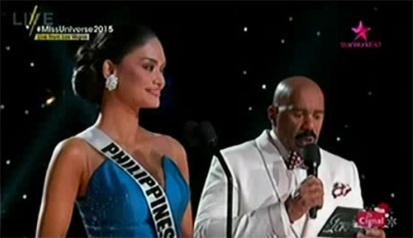 miss universe 2015 q&a portion video