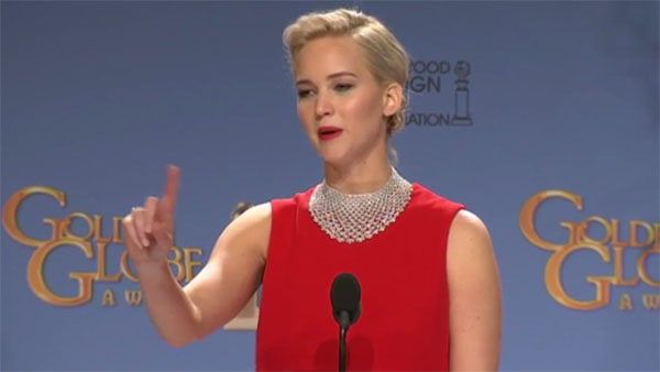 Jennifer Lawrence rude to foreign reporter