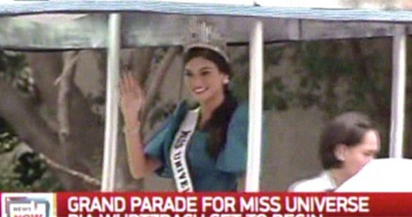 Miss Universe Pia Wurtzbach Homecoming Parade