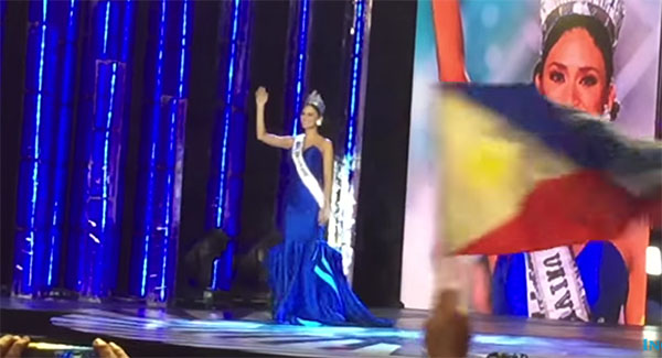 Pia Wurtzbach Miss Universe Victory Walk