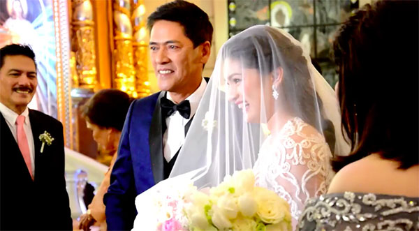 vic pauleen sotto wedding