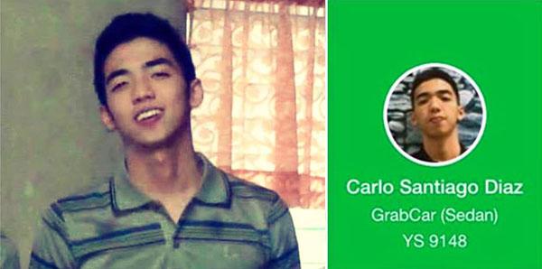 Carlo Santiago Diaz GrabCar viral story