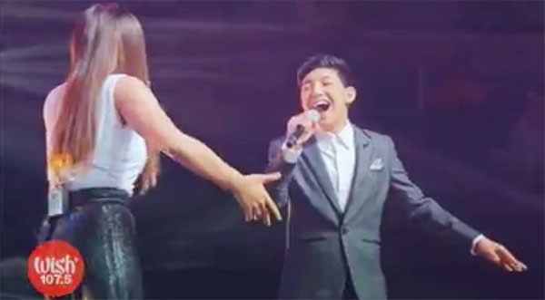 Darren Espanto and Morisette Amon Chandelier video