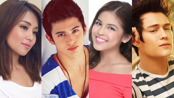Kathryn Bernardo Enrique Gil James Reid Maine Mendoza Nickelodeon