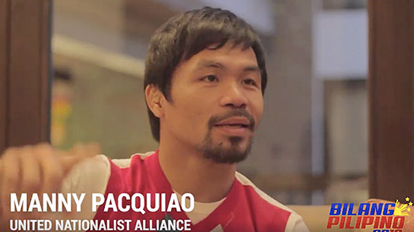 Manny Pacquiao says Same-Sex video