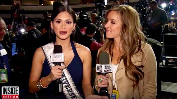Miss Universe Pia Wurtzbach Super Bowl 50
