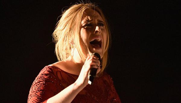 adele grammy performance video