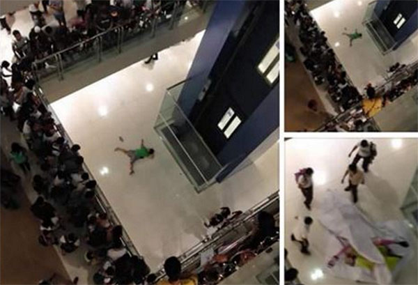 girl suicide sm megamall