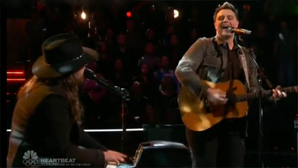 Adam Wakefield vs Jared Harder The Voice
