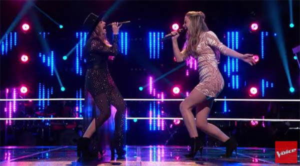Alisan Porter vs Lacy Mandigo The Voice