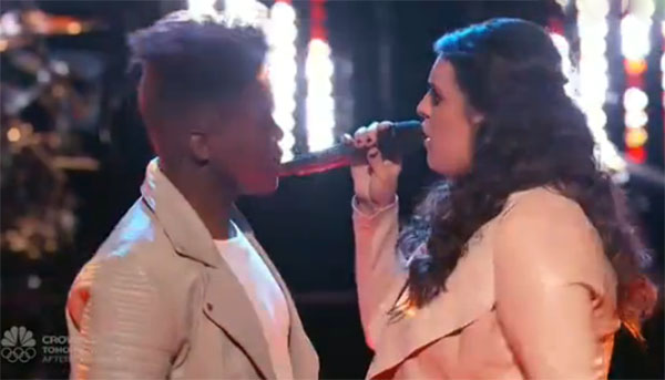 Brittney Lawrence vs Paxton Ingram The Voice Battles