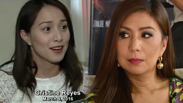 Cristine Reyes says Vivian Velez is lying