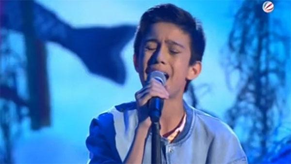 Filipino-Austrian Lukas Janisch The Voice Kids Germany winner