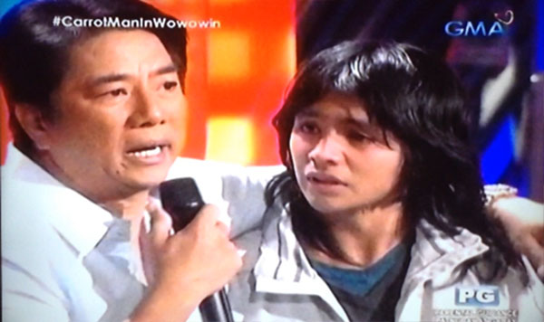 Jeyrick Sigmaton Carrot Man on Wowowin