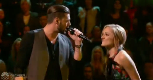 Justin Whisnant vs Mary Sarah The Voice Battles
