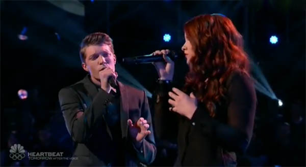 Kristen Marie vs Daniel Passino The Voice