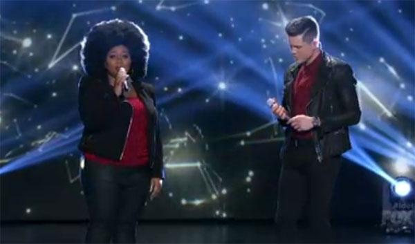 La'Porsha Renae and Trent Harmon America Idol