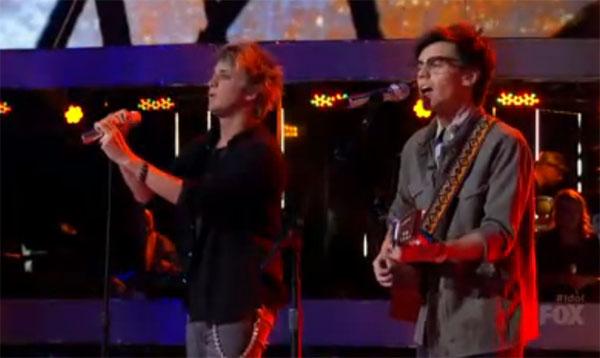 MacKenzie Bourg and Dalton Rapattoni American Idol