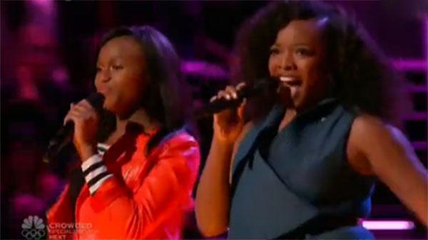Shalyah Fearing vs Tamar Davis The Voice Battles