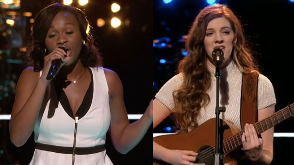 The Voice Knockouts Emily Keener vs Shalyah Fearing