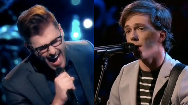 The Voice Knockouts Ryan Quinn vs Owen Danoff