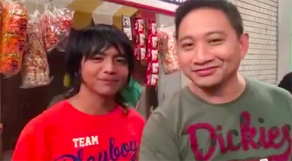 carrot man bubble gang