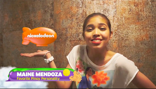 maine mendoza kids choie awards winner