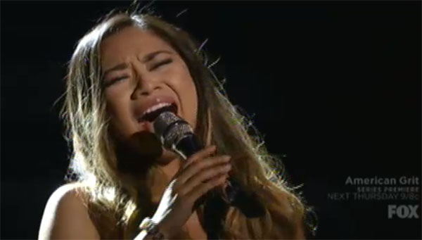 Jessica Sanchez American Idol Season 15 Finale Prayer