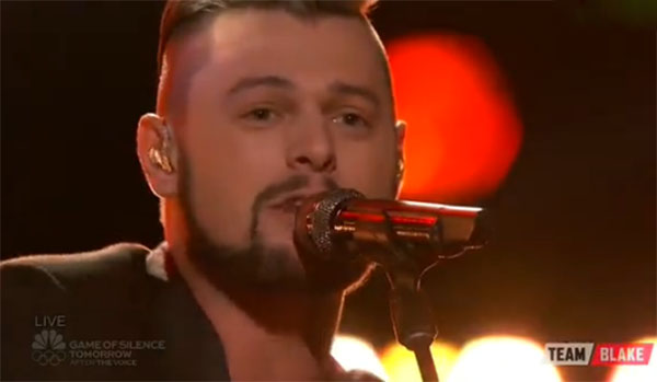 Justin Whisnant The Voice Live Playoffs