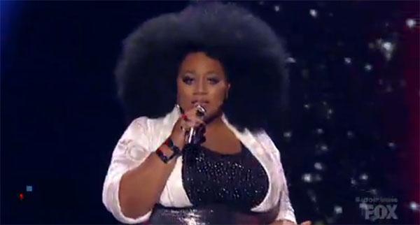 La'Porsha Renae battles american idol grand finale