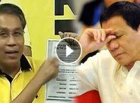 Mar Roxas reveal evidence of Duterte secrete bank account video