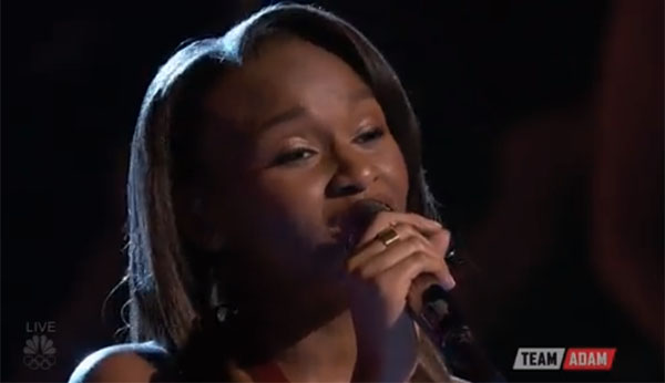 Shalyah Fearing Up to the Mountain the Voice Top 12
