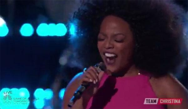 Tamar Davis The Voice Live Playoffs