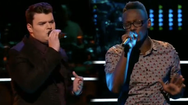 The Voice Knockouts Brian Nhira vs Nate Butler