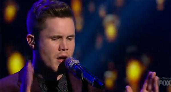 Trent Harmon American Idol Finale