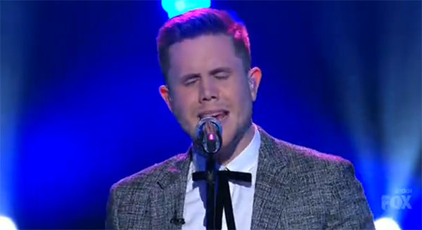 Trent Harmon American Idol round 3