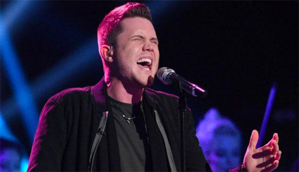 Trent Harmon Chandelier American Idol Finale