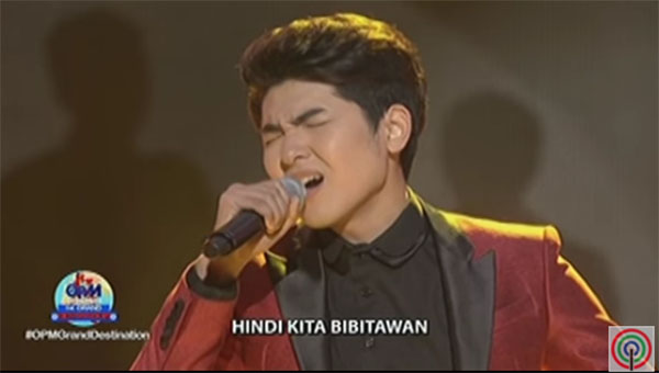 Yohan Hwang ABS-CBN I Love OPM Winner